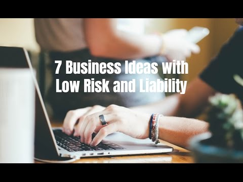 7 Business Ideas With Low Risk and Liability