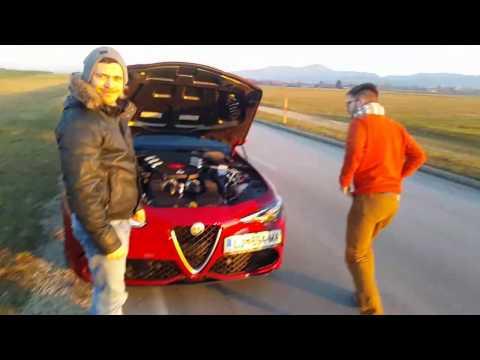 Test Alfa Romeo Giulia QV 2016