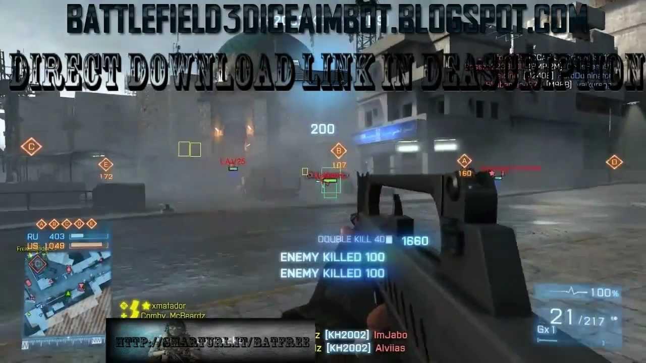 Battlefield 3 Cheats