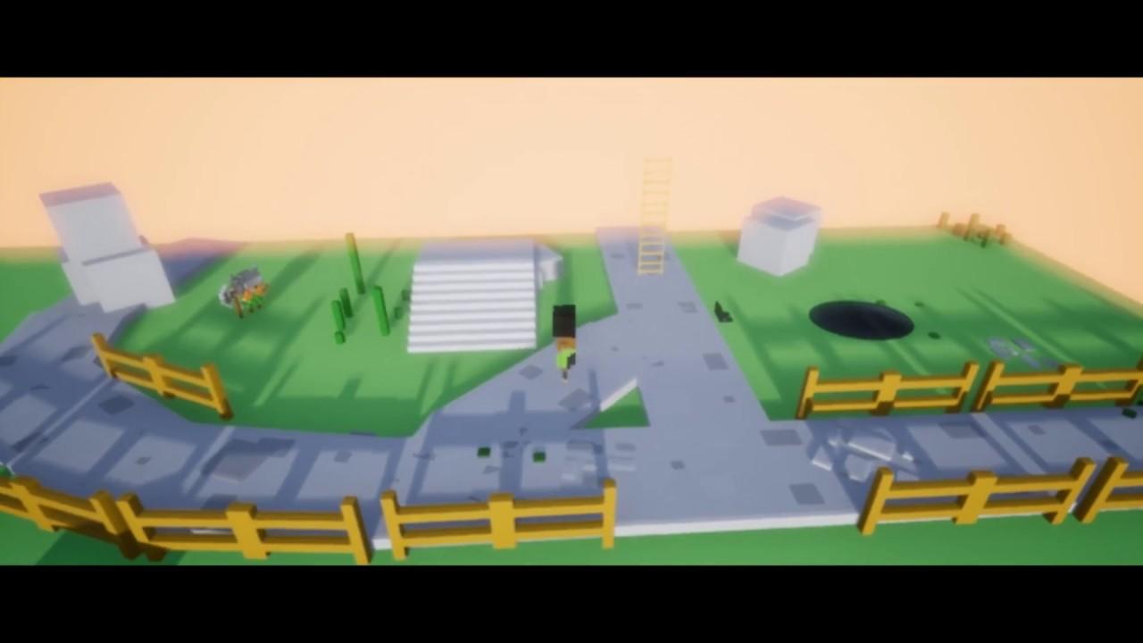 Unreal Engine 4 - 8-bit isometric game (WIP)