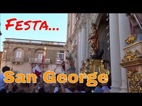 Malta, Festa, San George,  Hal  Qormi  2017/ The feast of  Sant George, Qormi