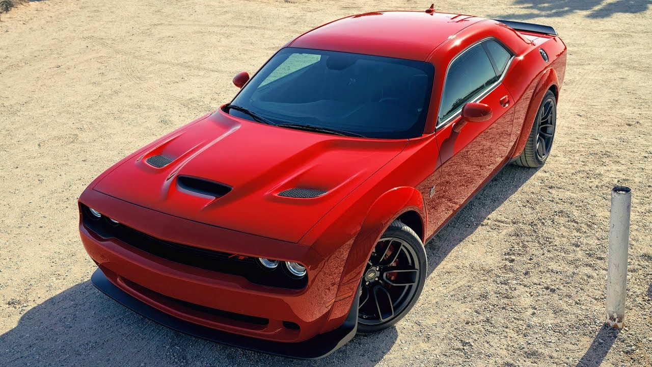 2019 Dodge Challenger R T Scat Pack Widebody More Fun And