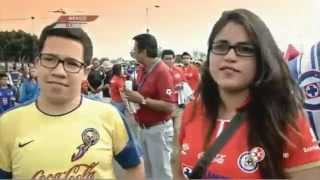 El Color en América vs Cruz Azul, J14, C14, LaJugada, 05Abril2014