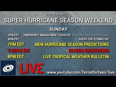 Hurricane Season Countdown