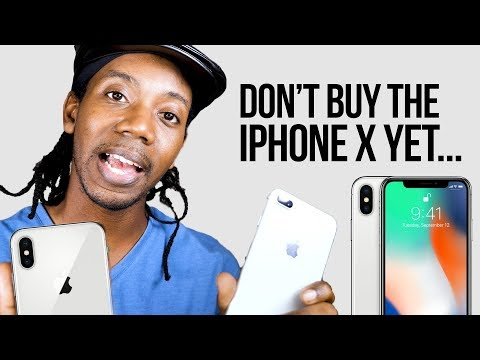Download Youtube: DON'T BUY THE IPHONE X YET... iPhone X vs iPhone 8 Plus #Rant