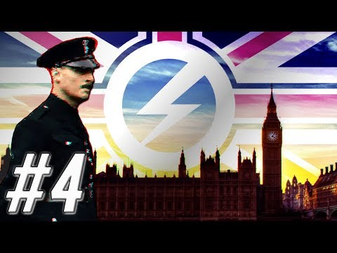 [4] Hearts of Iron IV - Red World - Republic of Britain - Legacy of Mosley