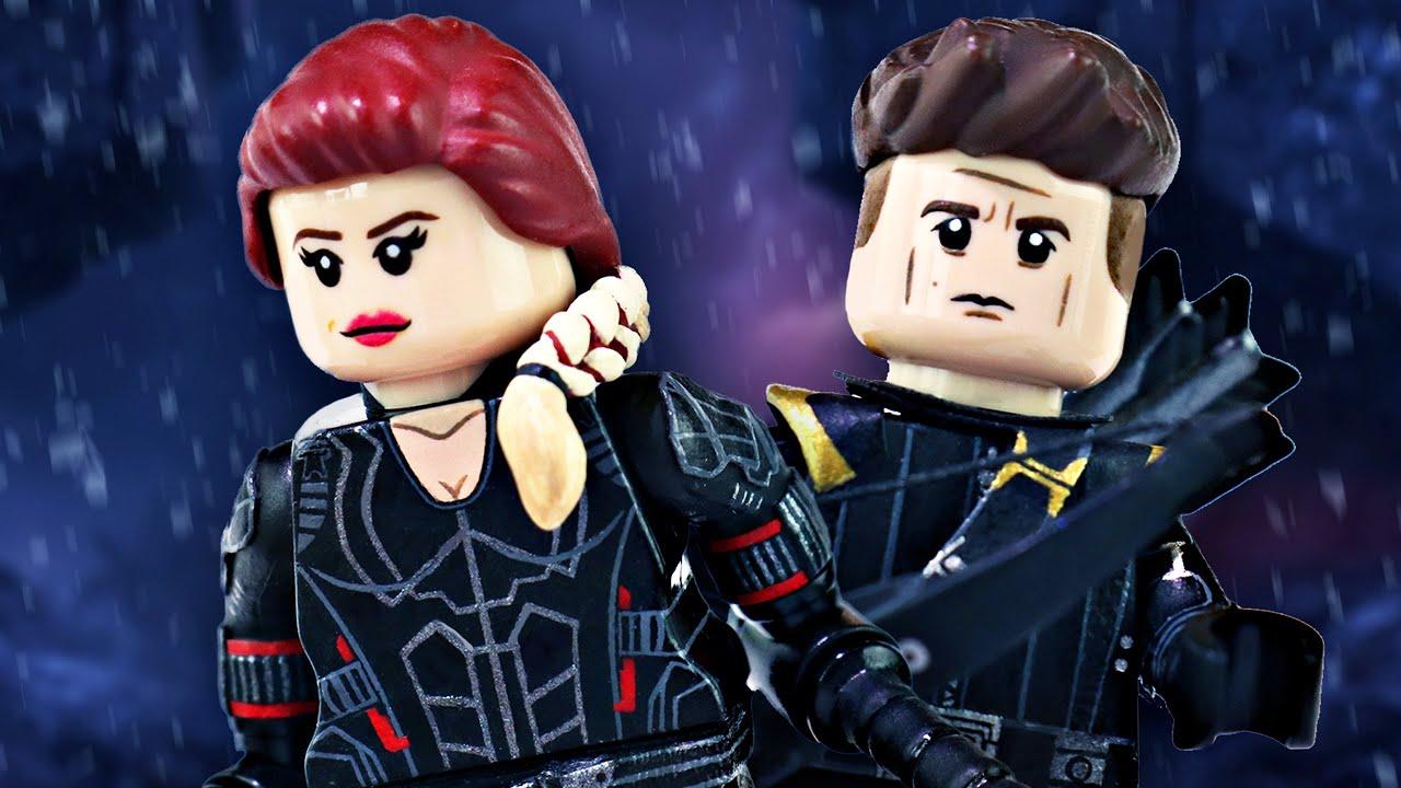 LEGO Avengers Endgame Black Widow & Hawkeye - Custom ...