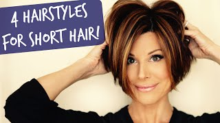 One of Dominique Sachse's most viewed videos: 4 Easy Short Hairstyles That Will Make You Want A Bob!