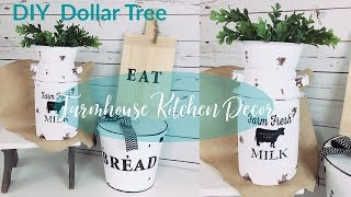 DIY DOLLAR TREE FARMHOUSE KITC…
