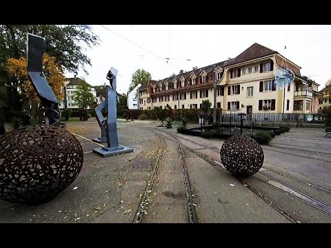 Bern Trams - Driver's Eye View - Part 1