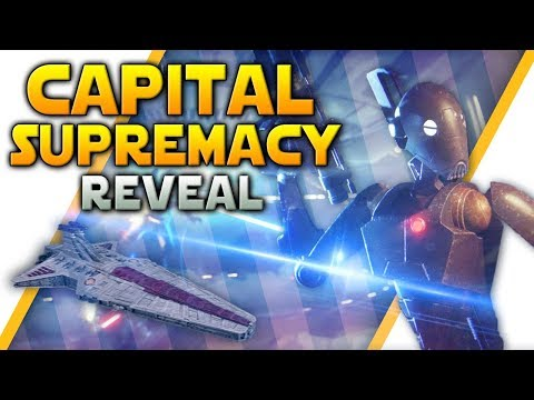 CAPITAL SUPREMACY REVEAL: 32v32 with AI, New Map (Only 1 Though) & More - Battlefront 2 thumbnail