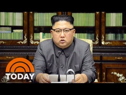President Donald Trump's War Of Words With North Korea Continues To Increase Tensions | TODAY