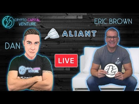 LIVE Interview - Aliant Payments Founder Eric Brown