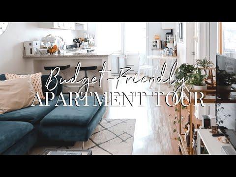 Jersey City Apartment Tour | Budget Friendly Apartment Decor