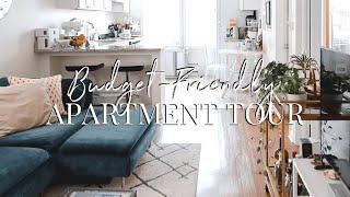 Jersey City Apartment Tour   Budget Friendly Apartment Decor