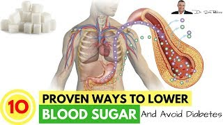 🍬 10 Clinically Proven Ways To Lower Blood Sugar & Avoid Diabetes