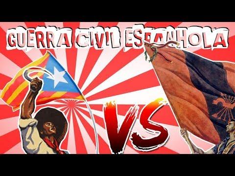 Historia Geral 27 Guerra Civil Espanhola Youtube