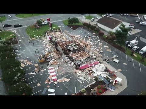 Sean Salisbury - KFC In North Carolina Blows Up And It's All On Video