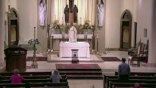 5.4.21 Daily Mass at St. Joseph's (not complete Mass - had sound difficulty)