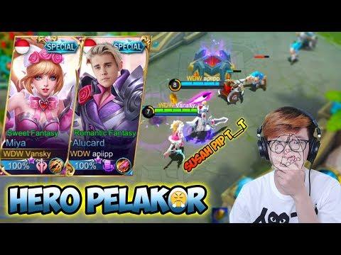 DASAR MIYA PELAKOR ! WITH AFIF YULISTIAN ECIEEE - Mobile Legends Indonesia