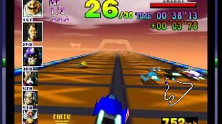 F-ZERO X - -Captain Falcon Goes KaBbOoM! Vizzed.com GamePlay - User video
