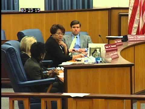 Richmond City Council Formal Meeting, Richmond, VA U.S.A 3 23 2015