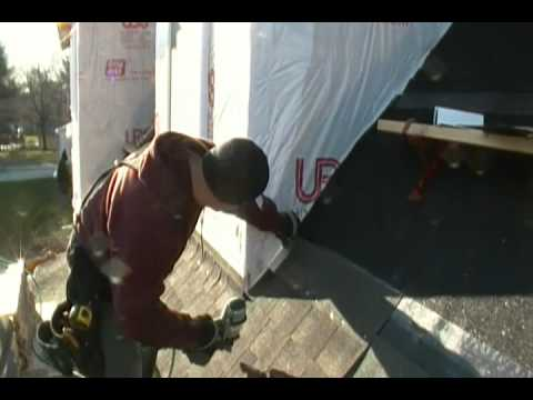 Shingle And Step Flash A Dormer Youtube
