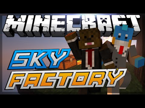 """Minecraft Modded Sky Factory """"ODDJOBS"""" Lets Play #11"""