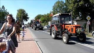 Dożynki gminno parafialne w Chludowie 24/08/2019