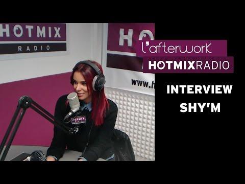 Shy'm sur Hotmixradio