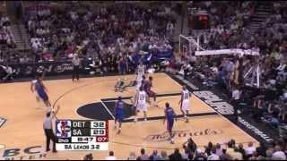 2005 NBA Finals - Detroit vs San Antonio - Game 6 Best Plays