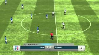 Fifa 13 |Italy vs Deutschland| PC version - Portuguese play by play