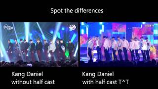 Video 워너원 Wanna One Energetic - Choreography before and after Kang Daniel sprained his fingers download MP3, 3GP, MP4, WEBM, AVI, FLV November 2017