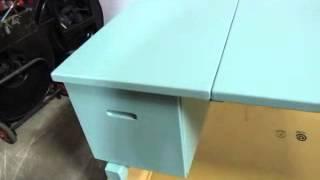 Aluminum Military Folding Desk Field Hospital Medical Units 6530001152993