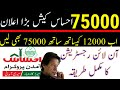 Ehasas loan scheme | Imran Khan loan scheme for youth | Ehasas cash | 75000 Bilasod | get Ehsas loan