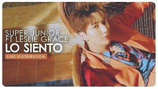 Download Lagu Super Junior • Lo siento (ft Leslie Grace) | Line Distribution Mp3