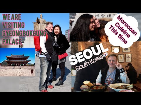 Gyeongbokgung Palace | We Tried Moroccan Food In Morocco Cafe | Seoul South Korea ❤️The HIGGINSes