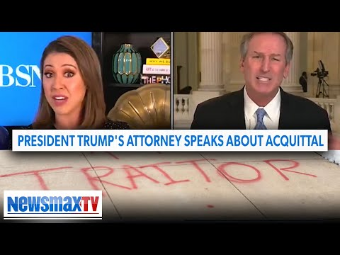 Trump lawyer on CBS mic drop moment, his home being vandalized