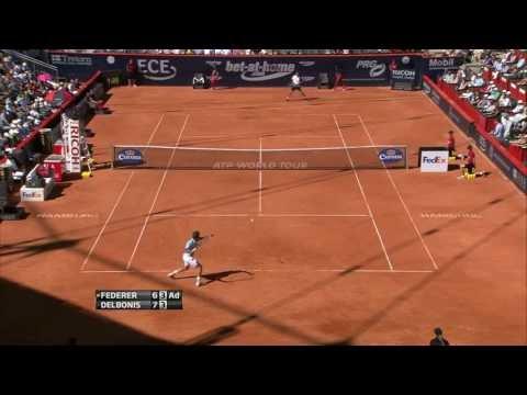 Hamburg 2013 - SF - Federer vs Del Bonis (HD)