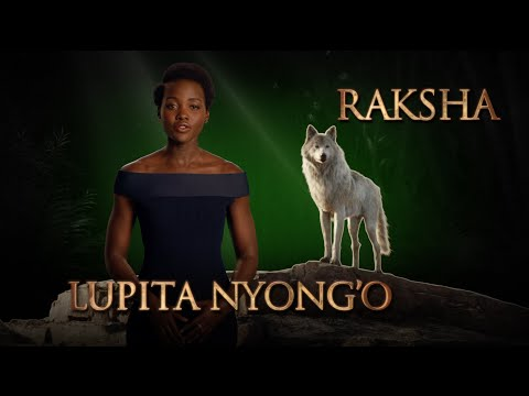 Lupita Nyong'o is Raksha - Disney's The Jungle Book
