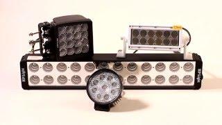 Сравнительный тест дополнительного света для автомобилей. '2 лошадиные силы'