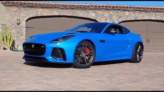 Jaguar F-Type SVR Coupe 2017 Videos