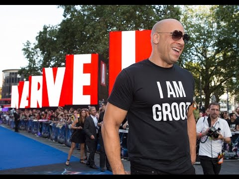 Marvel's Guardians of the Galaxy European premiere - Official | HD