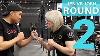 Jen Thompson vs. Josh Reyes Round 2: The Ultimate Pullup Challenge