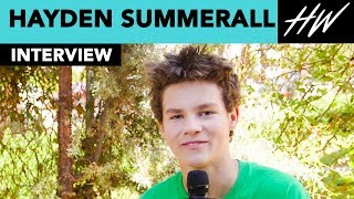 """Hayden Summerall Reveals His Love Interest In """"Next Level"""" & Stole A Phone Case From Set 