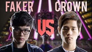 WHO'S THE BEST ? - FAKER VS CROWN - WORLDS FINAL HYPE - League of Legends