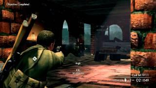 Sniper Elite V2: Walkthrough Mission 10 - Köpenick Launch Site [X360 / PS3 / PC]