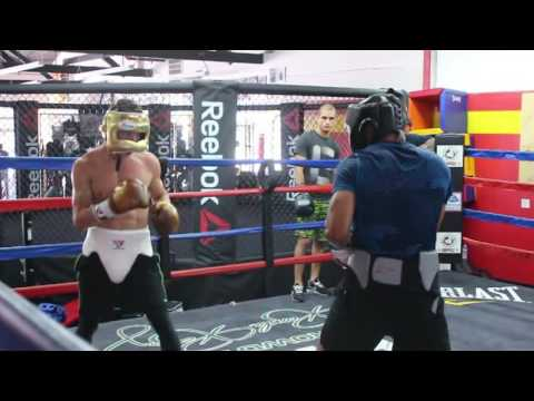 Carlos Morales Sparring Workout In Glendale Ca.