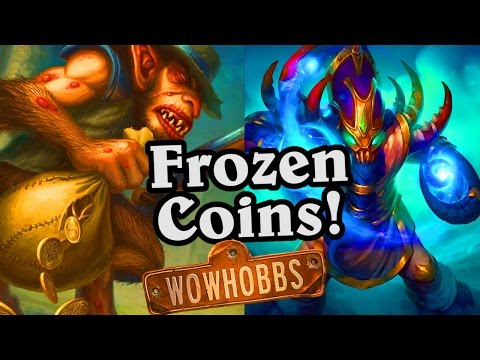(Hearthstone) Demented Frostcaller Frozen Coins!