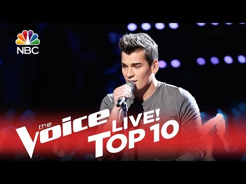 Zach Seabaugh - Crazy Little Thing Called Love (The Voice Top 10 2015)
